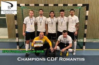 Champions CDF Romantiis
